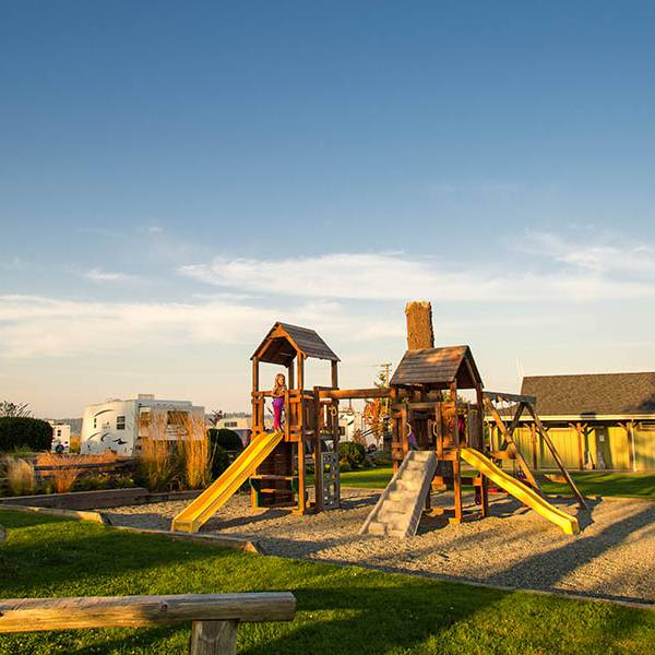 Oceanside RV Resort, speeltuin