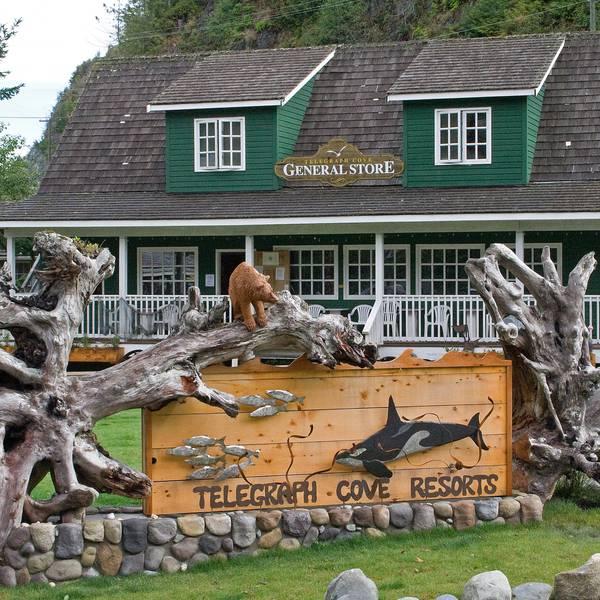 Telegraph Cove Resort, sfeerimpressie
