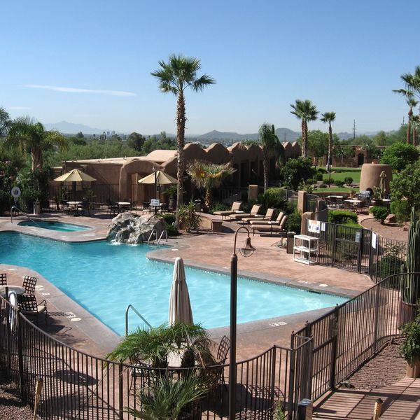 La Posada Lodge - zwembad