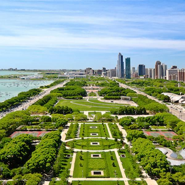 Grant Park - Millennium Park - Chicago - Illinois - Doets Reizen