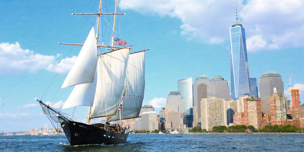 Manhattan by Sail - New York - Doets Reizen