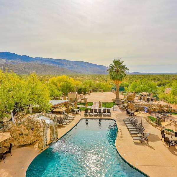 Tanque Verde Ranch - zwembad