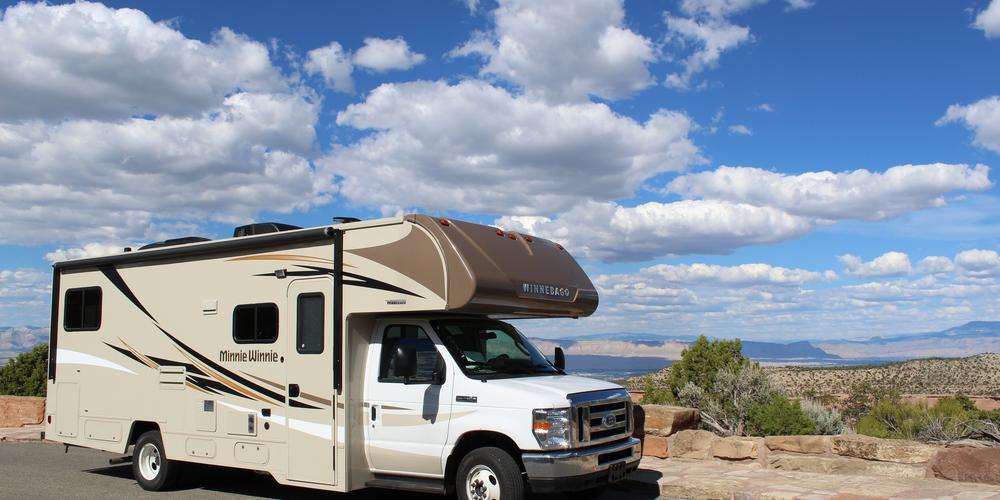 Met de camper bij het Colorado National Monument
