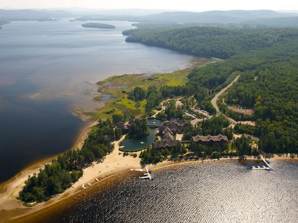 Auberge Du Lac Taureau - Quebec - Canada - Doets Reizen