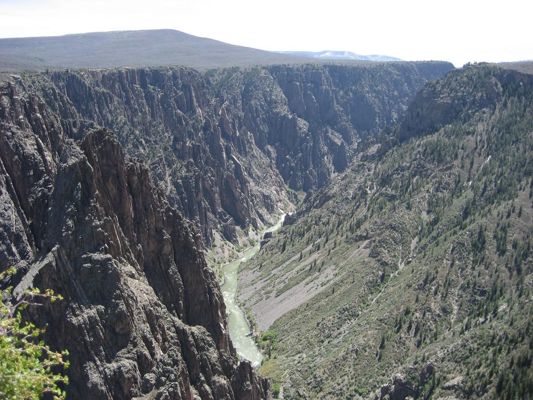 Black Canyon National Park Colorado