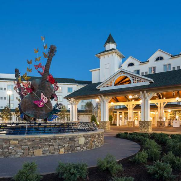Dollywood's DreamMore Resort - fontein