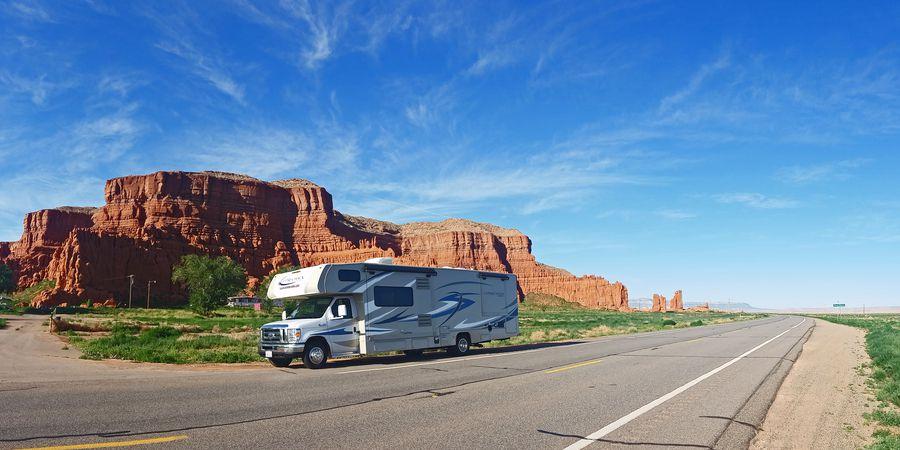 Op pad in West Amerika met de camper van Road Bear RV
