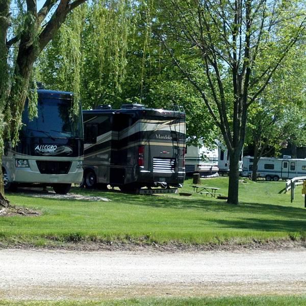 Chicago Northwest KOA, sfeerbeeld van de camping