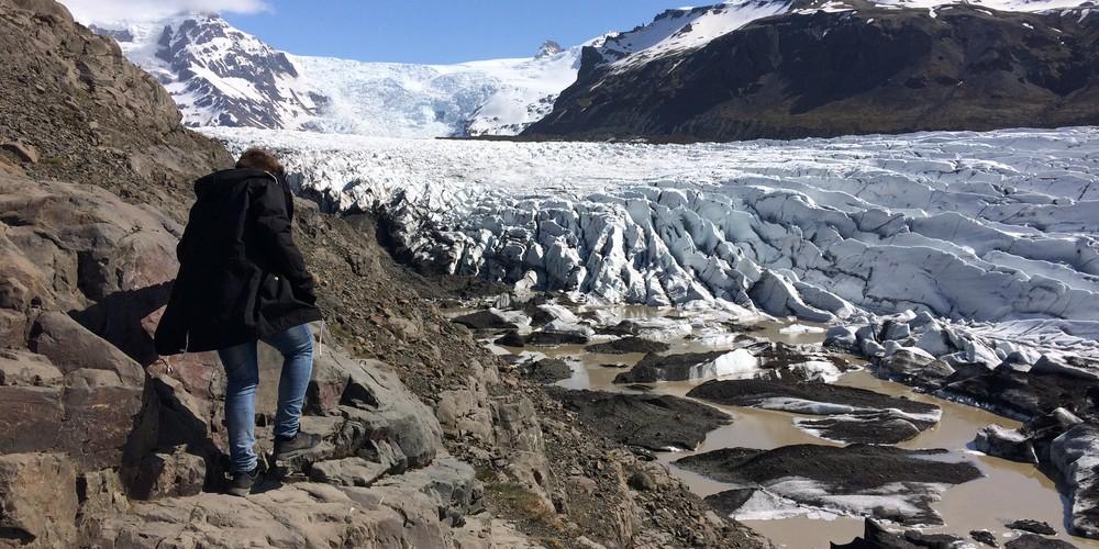 Svínafellsjökull - IJsland - Doets Reizen