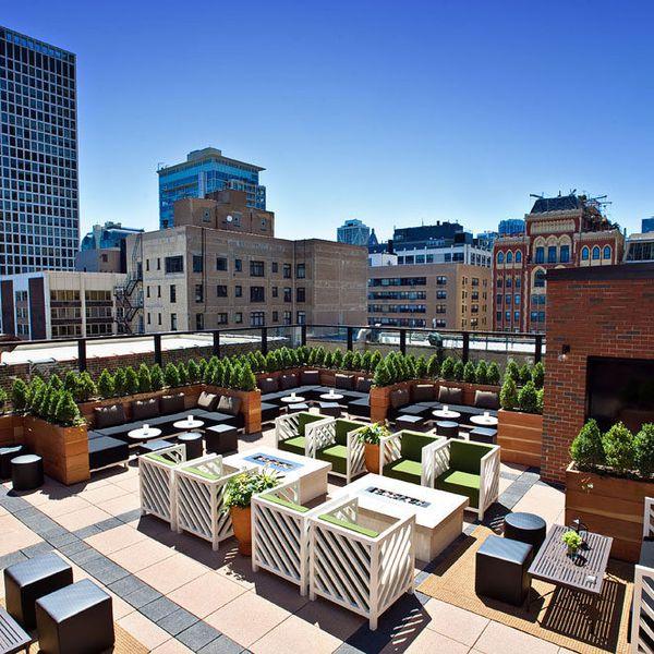 Raffaello Hotel - rooftop bar