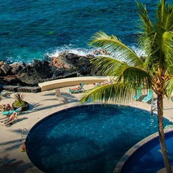 Royal Kona Resort Pool & Salt Water Lagoon