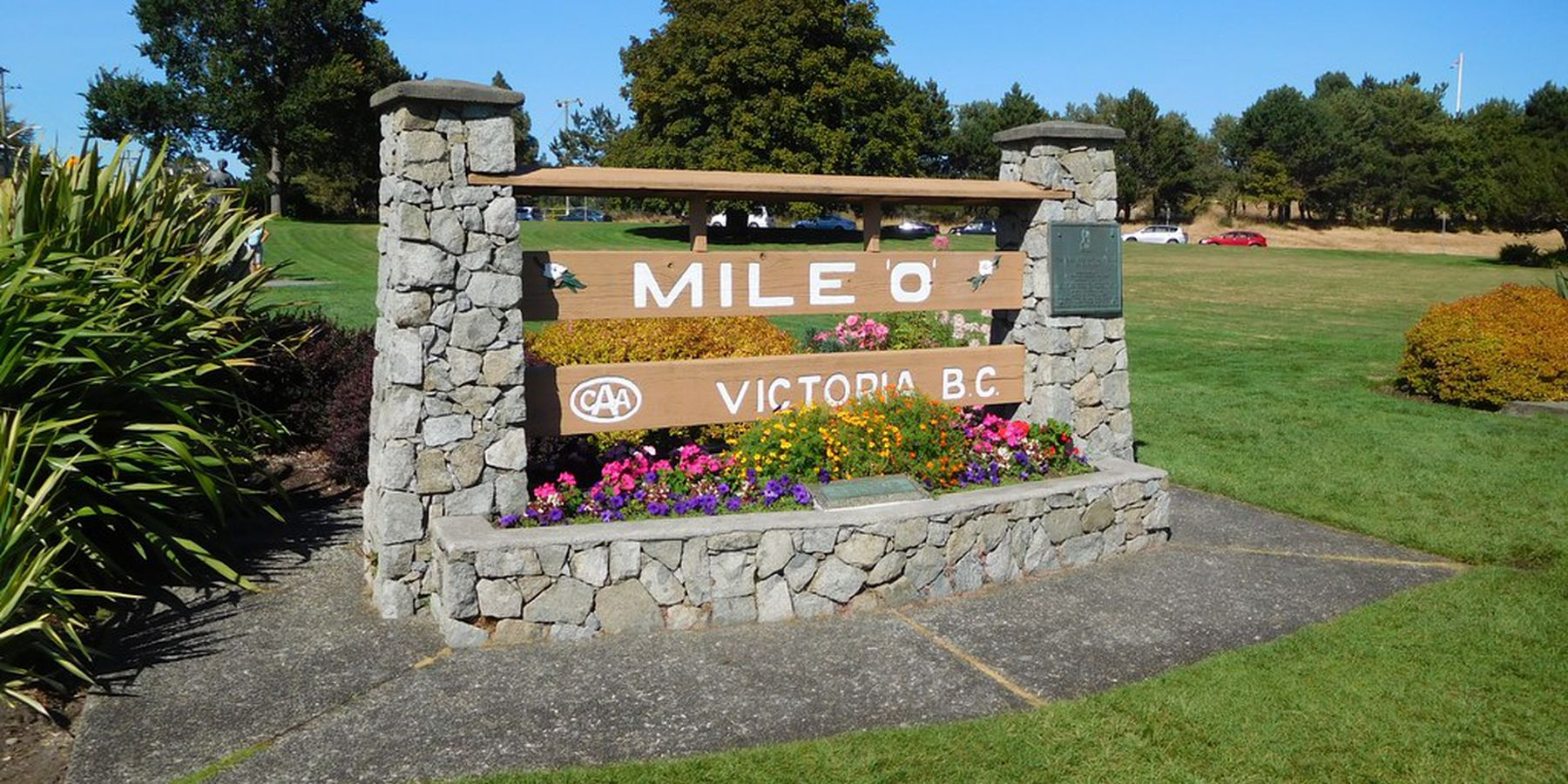 Beacon Hill Park - Victoria - Vancouver Island - British Columbia - Canada - Doets Reizen