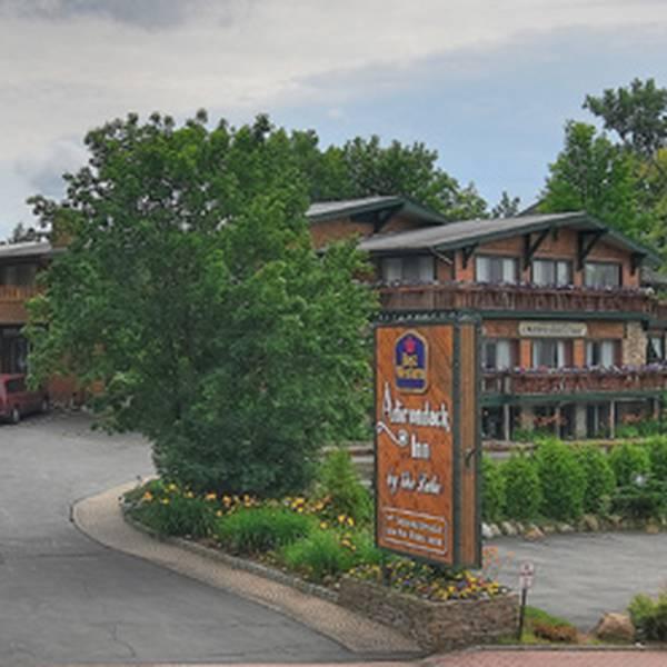 Best Western Adirondack Inn - aanzicht