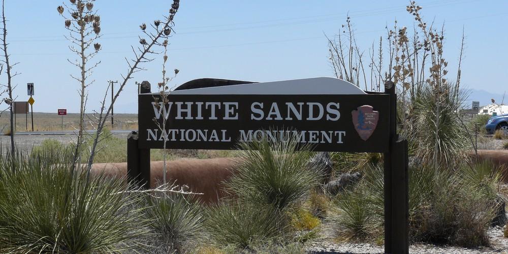 White Sands National Monument - New Mexcico - Amerika - Doets Reizen