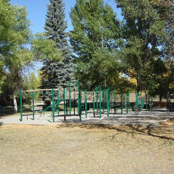 Dinosaur Campground, speeltuin voor de kinderen