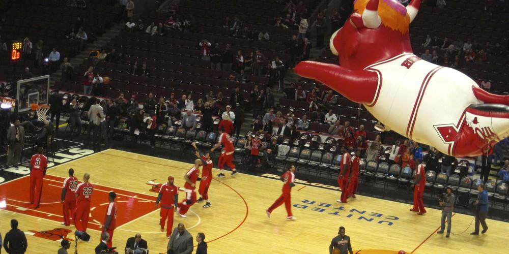 Chicago Bulls een unieke ervaring.