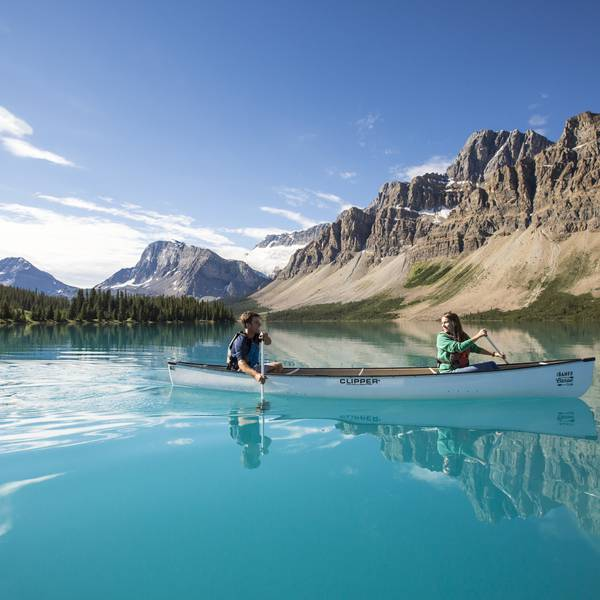 Bow Lake - Banff National Park - Alberta - Canada - Doets Reizen