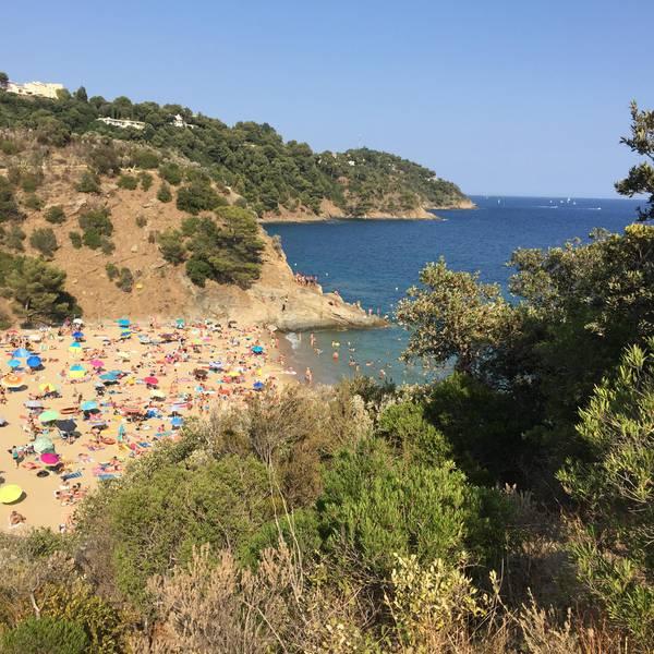 Cavalaire sur Mer strand | Frankrijk | Doets Reizen
