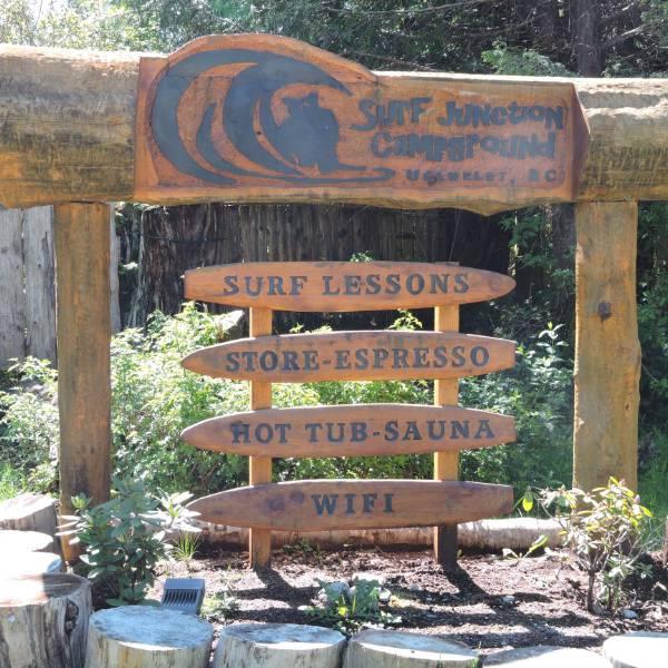 Surf Junction Campground, welkom!