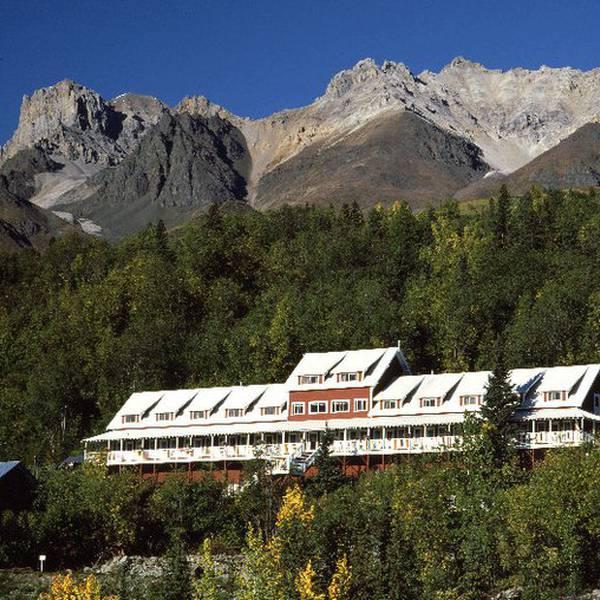 Kennicot Glacier Lodge - aanzicht