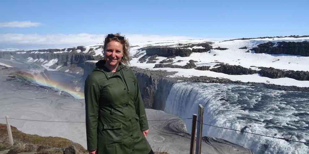 Detifoss watervallen - IJsland - Doets Reizen