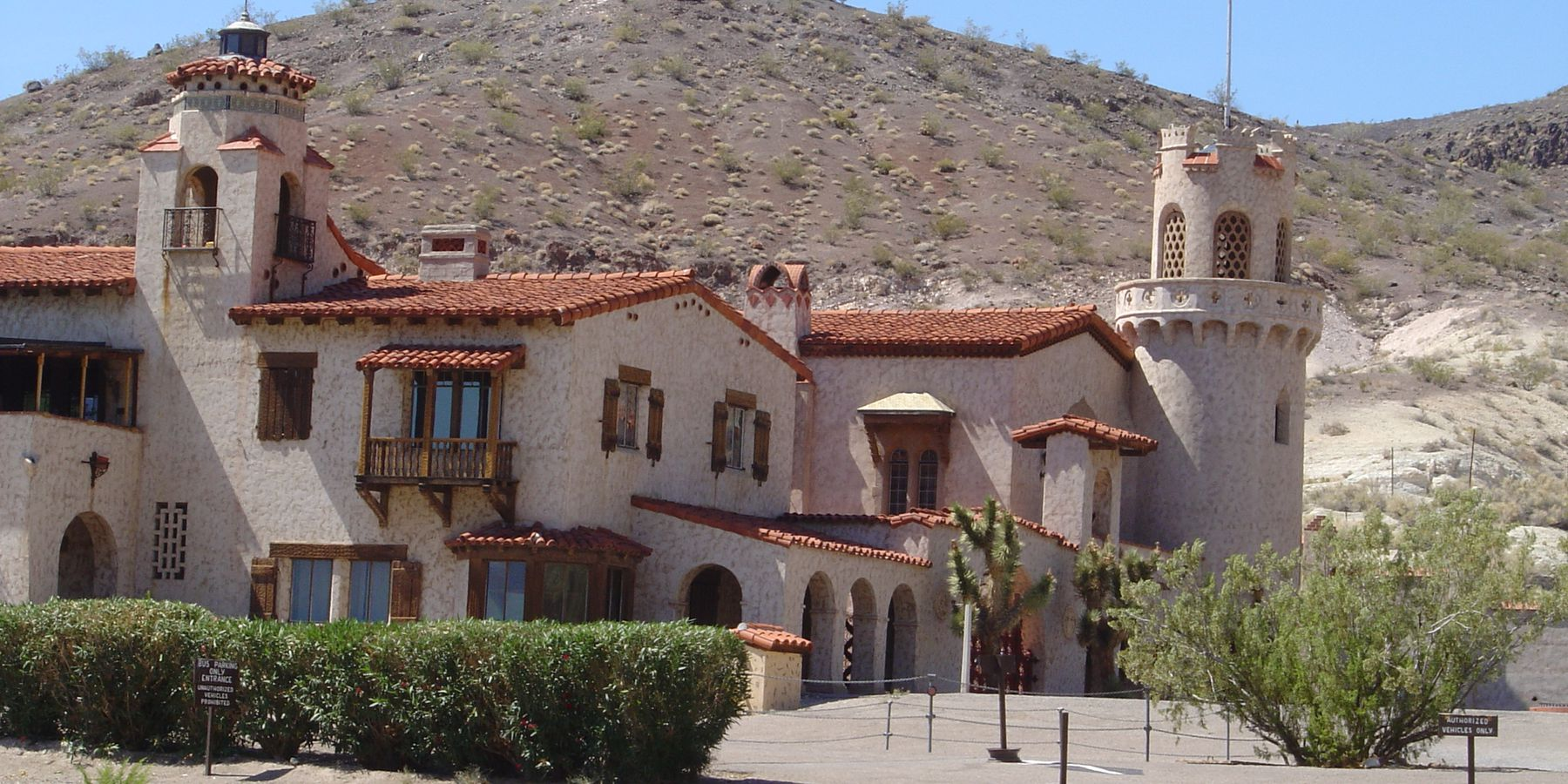 Scotty's Castle - Dead Valley - California - Amerika - Doets Reizen