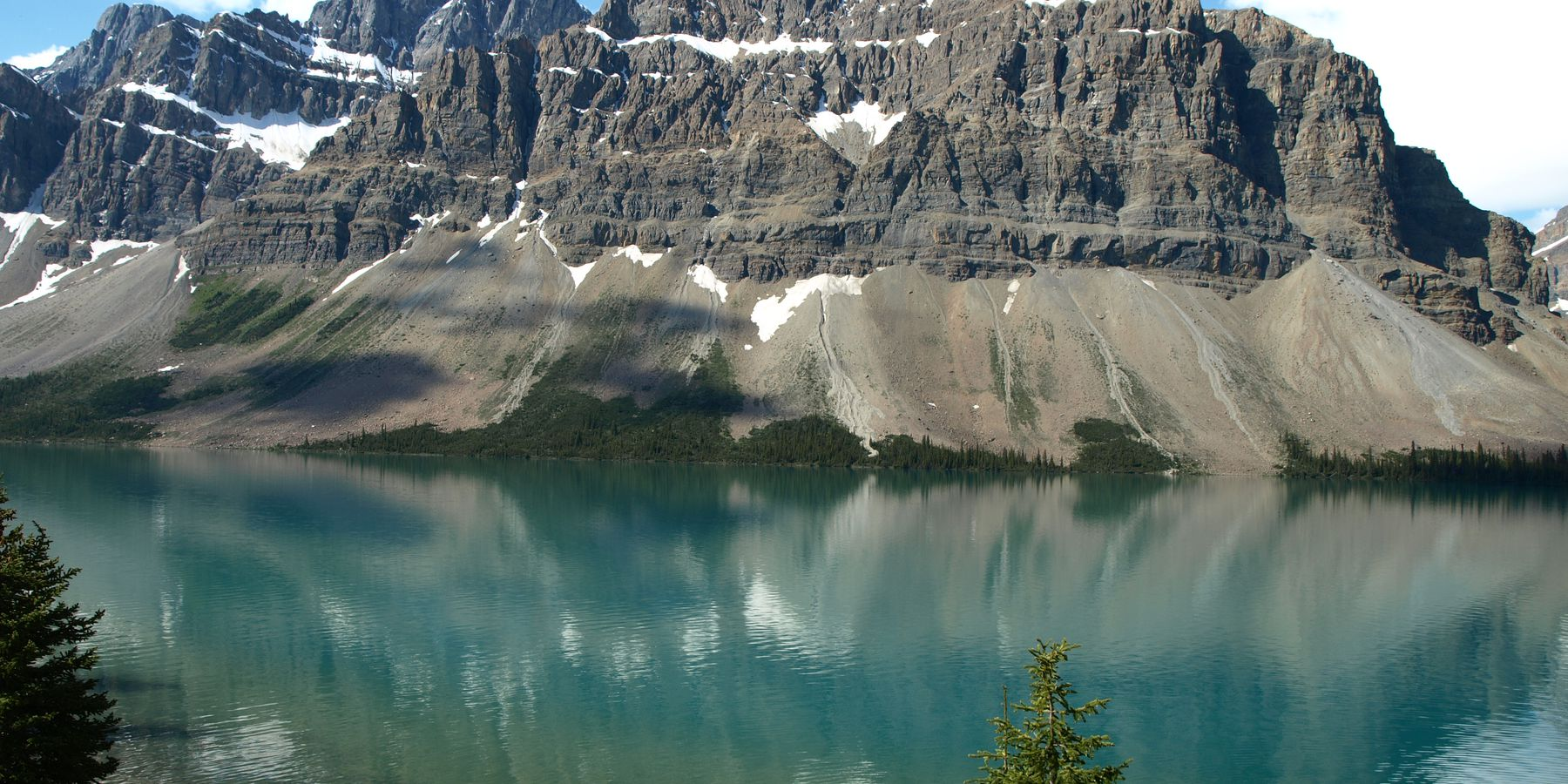 Bow Lake - Icefields Parkway - Alberta - Canada - Doets Reizen