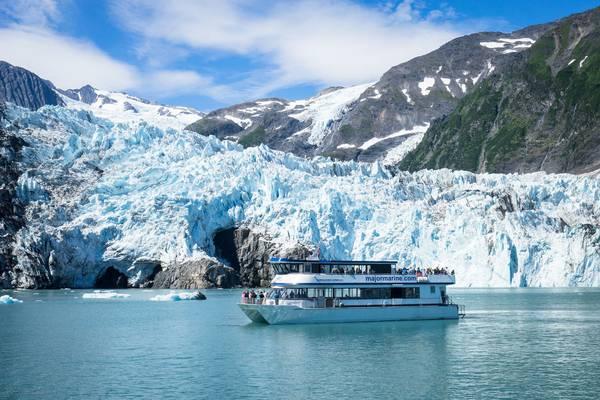 Columbia Glacier - Prince William Sound - Alaska - Doets Reizen