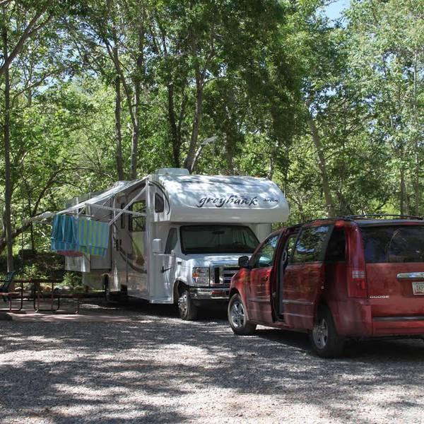 Rancho Sedona RV Park, camperplaatsen