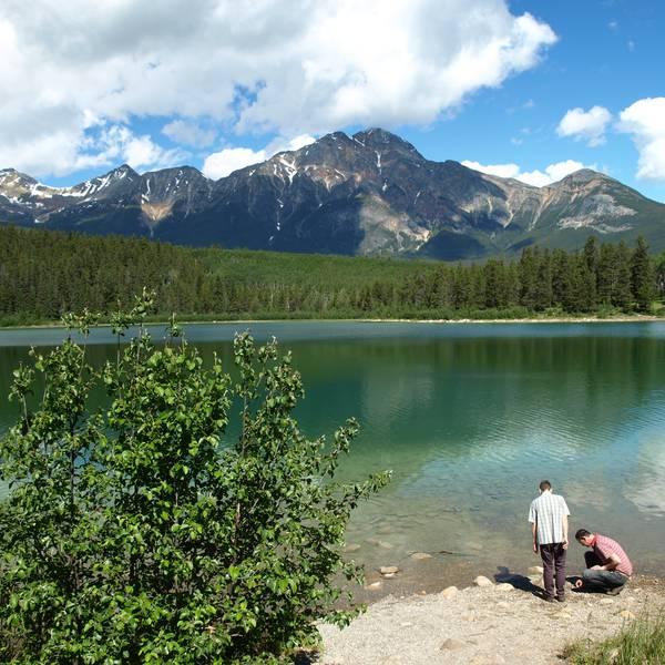 Pyramid Lake - Jasper National Park - Alberta - Canada - Doets Reizen