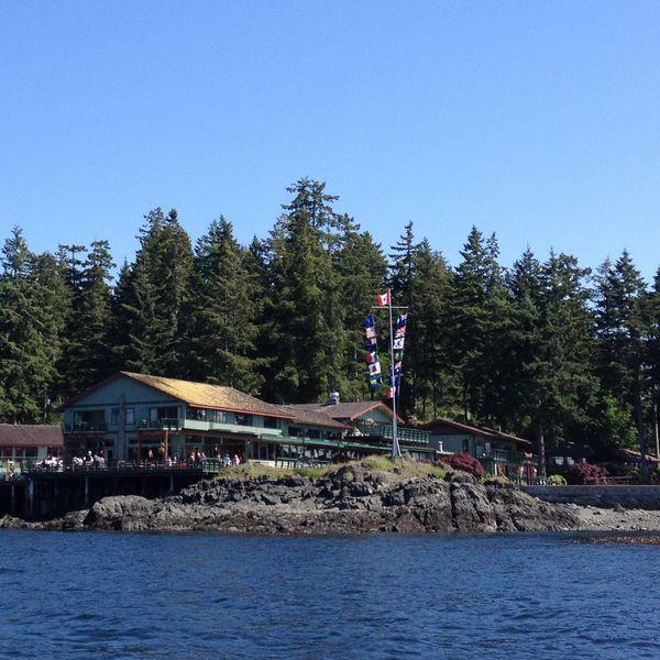 April Point Resort - ligging