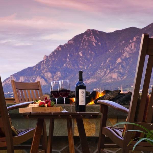 Cheyenne Mountain Resort - firepit