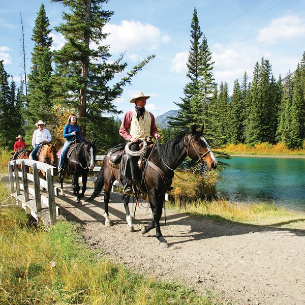 Bow River Ride - Banff National Park - Alberta - Canada - Doets Reizen