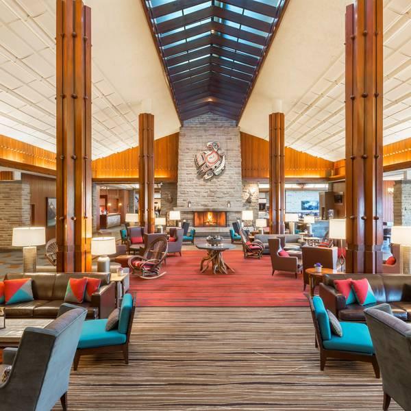 Fairmont Jasper Park Lodge - lobby1
