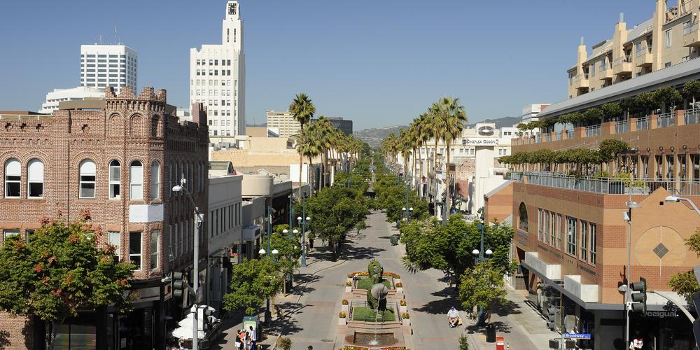 Third Street Promenade - Santa Monica - Los Angeles - California - Amerika - Doets Reizen