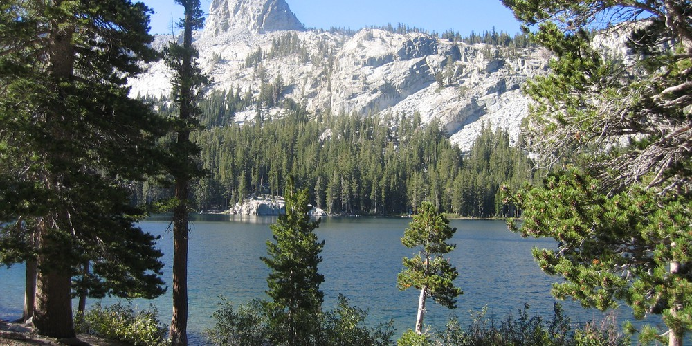 Lake George in Mammoth Lakes, California