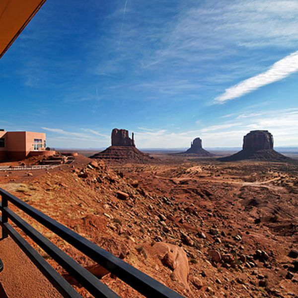 View Hotel Monument Valley - uitzicht