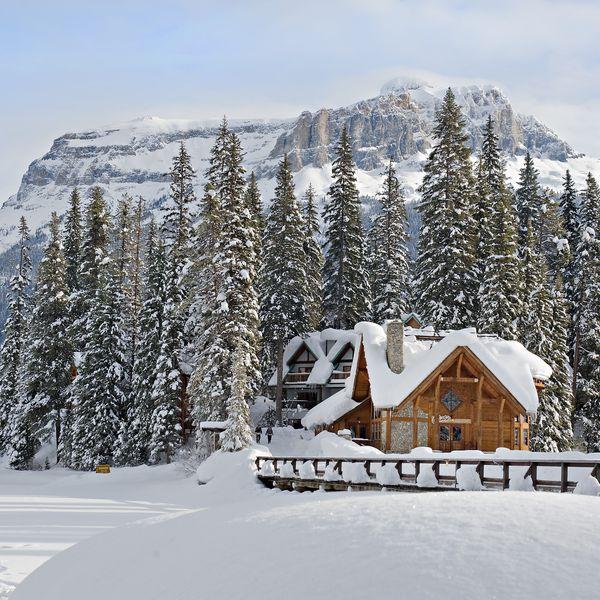 Emerald Lake Lodge Winter -1