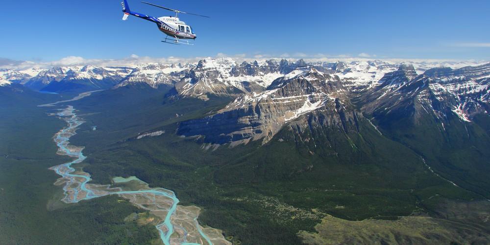 Helicoptervlucht - Icefields Parkway - Alberta - Canada - Doets Reizen