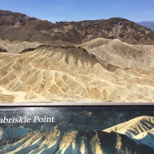 Naar Death Valley via Zabriski Point - Dag 13 - Foto