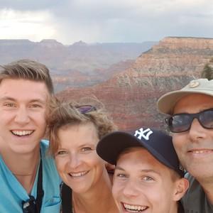 Via Route 66 naar de Grand Canyon - Dag 7 - Foto