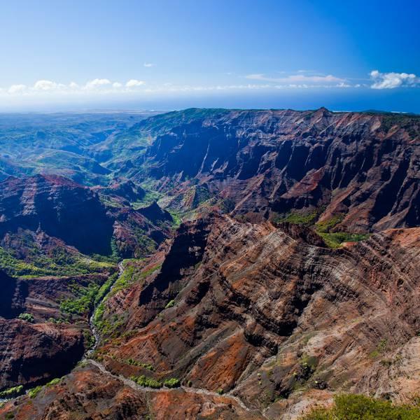 Waimea Canyon - Kauai - Hawaii - Doets Reizen