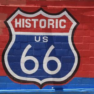 via route 66 naar Chloride - Dag 26 - Foto