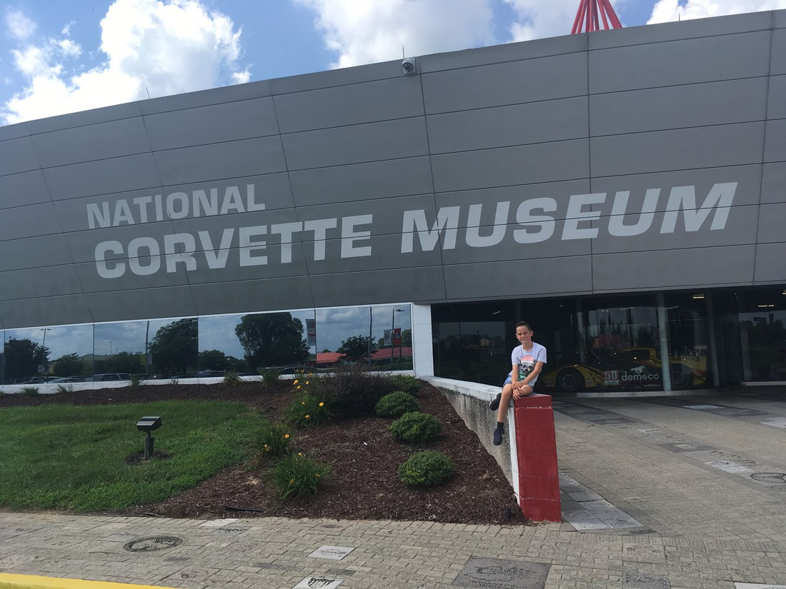 National Corvette museum - Bowling Green - Kentucky - Amerika - Doets Reizen