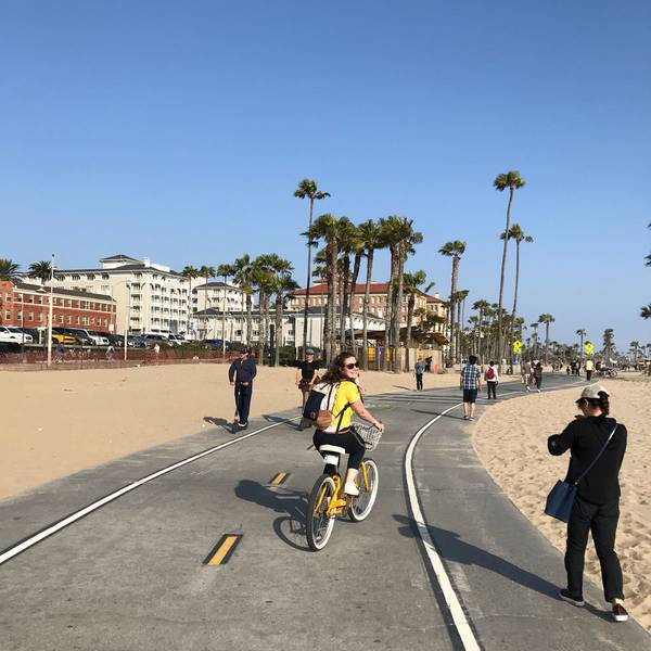 Fietsen in Santa Monica