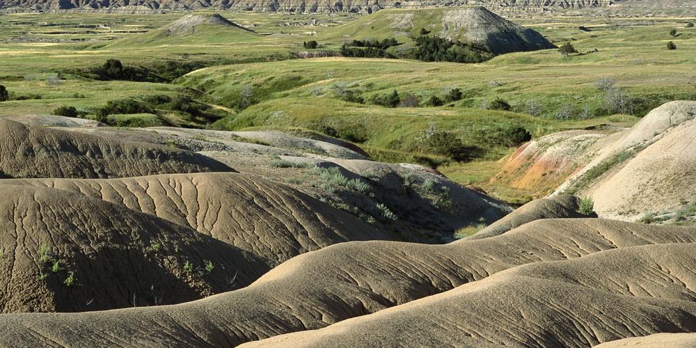 Badlands NP in South Dakota