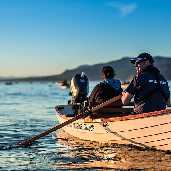 Vissen Campbell River - Vancouver Island - British Columbia - Canada - Doets Reizen