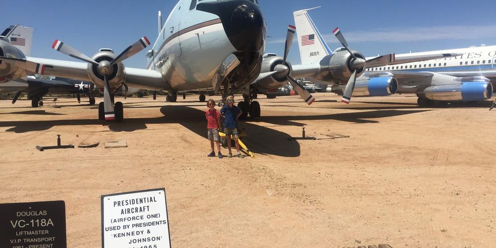 Pima Air & Space Museum - Tucson - Arizona - Doets Reizenrizona - Doets Reizen