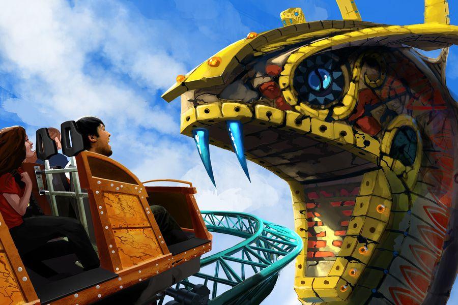 Busch Gardens Tampa - Orlando - Florida - Doets Reizen