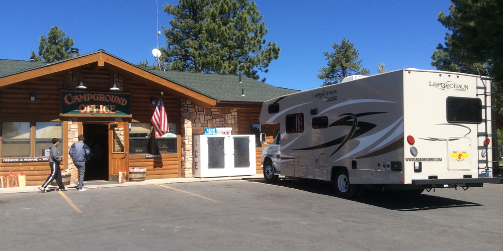 Ruby's Inn RV Park and Campground, campground office